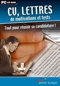 CV, Lettres et tests de recrutement