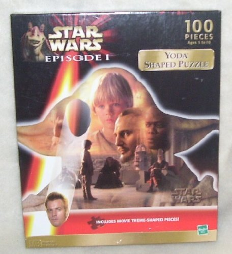 Star Wars Episode I Darth Maul Shaped Jig Saw Puzzle
