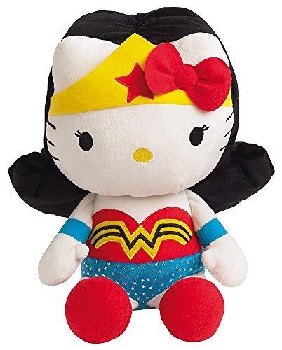 Jemini-Peluche-Hello-Kitty-Wonder-Woman-40cm-3298060228695-by-Jemini