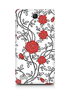 Amez designer printed 3d premium high quality back case cover for Xiaomi Redmi Note Prime (Color pattern surface texture colorful)