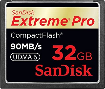 Sandisk Extreme Pro SDCFXP-032G-X46 32GB 90MB/s CF Memory Card