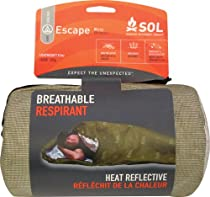 Survive Outdoors Longer Escape Bivvy Breathable Respirant, OD Green, 0.593 Pound