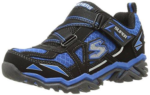 Skechers Infants' Pillar 2.0 Hawk Light Up Sneaker Black Blue 7 M Us front-673828