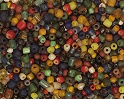 Beads - Indonesian Glass Tradewind - Assortment of 200+ Pieces