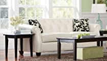 Big Sale Kristyna Soft Cream Bonded Leather Sofa by Coaster