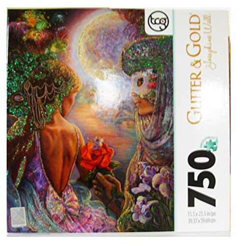 Josephine Wall Glitter & Gold 750 Piece Jigsaw Puzzle : Masque of Love