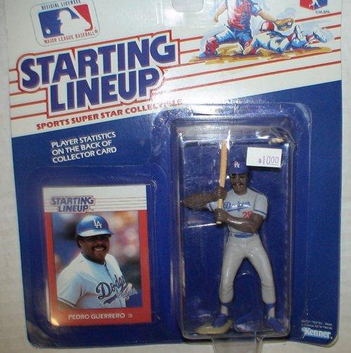 Starting Lineups Dodgers Pedro Guererro - 1