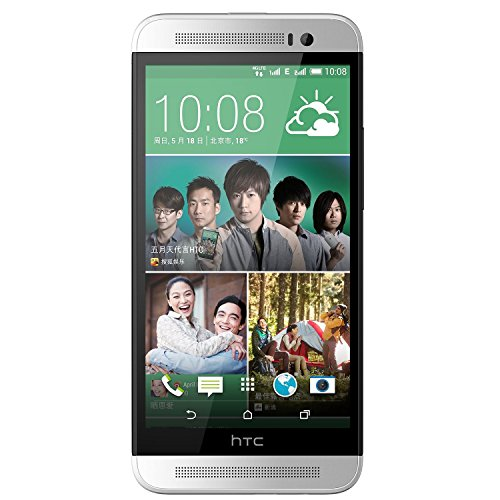"Htc One E8 5.0"" Android 4.4 Quad Core Rom 16Gb Unlocked 4G Lte Dual Sim Smartphone Color White International Version No Warranty"