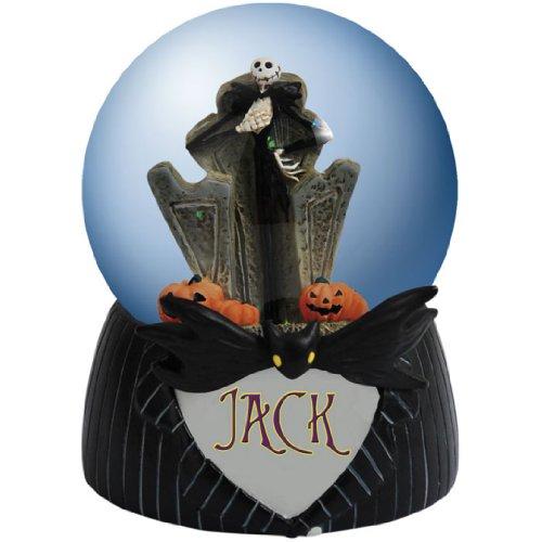 Disney Nightmare Before Christmas Jack Westland Giftware Water Globe