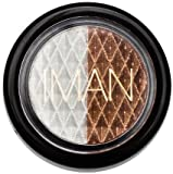 IMAN Luxury Duo Eyeshadow .05 oz (1.42 g)(Color: Mixed Metals)