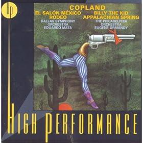 Copland: El Sal�n M�xico; Suites: Rodeo & Billy the Kid; Appalachian Spring