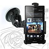 Celicious Fit-In Dedicated Car Suction Mount Holder for Sony Xperia Acro S