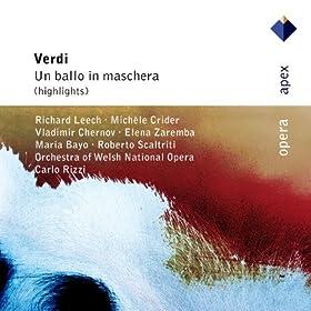 """Verdi : Un ballo in maschera : Act 1 """"Su, profetessa"""" [Samuel, Tom, Chorus, Oscar, Riccardo]"""