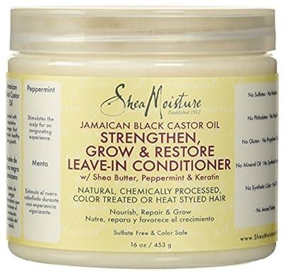 SheaMoisture Jamaican Black Castor Oil Reparative Leave-In Conditioner - 16 oz