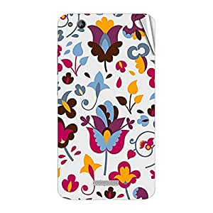 Garmor Designer Mobile Skin Sticker For Gionee Pioneer P6 - Mobile Sticker