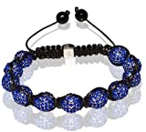 Buddha Bracelet Unisex & Adjustable In All Blue (Item Includes Gift Box) Picture