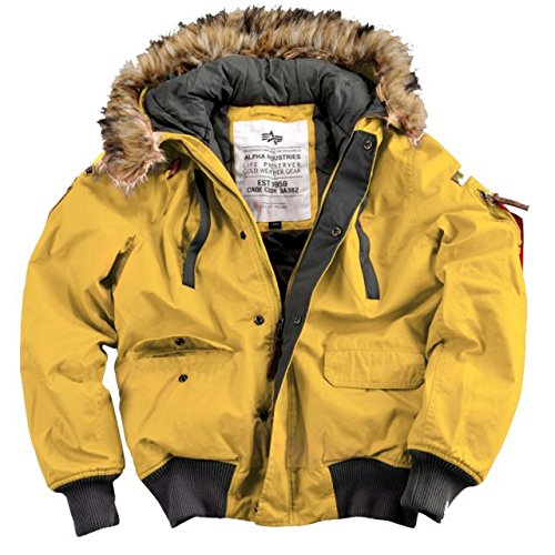 "Alpha Ind. Jacke ""Mountain Jacket"" – yellow S-3XL NEU günstig bestellen"