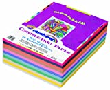 Rainbow Super Value Construction Paper Ream, 9 inches x12 inches, 500 Sheets (6555)