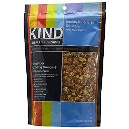 KIND FRUIT & NUT BARS CLSTR,VAN BLUBRY W/FLAX, 11 OZ