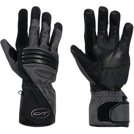 Gants moto été Mombasa cuir et Kevlar Noir Taille XS = 7