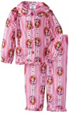 Sofia the First Girl's 2-6X Toddler Sofia Hearts Button Front Pajama Set