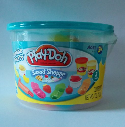 Play-doh Sweet Shoppe Sundae Treats 4 Oz. Pail - 1