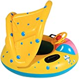 Arshiner Babies Kids Sunshade Swimming Inflatable Boat Swimming Pool Fish Float