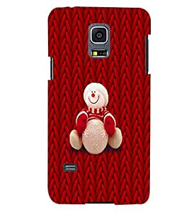 PRINTSWAG TEDDY RED Designer Back Cover Case for SAMSUNG GALAXY S5 MINI
