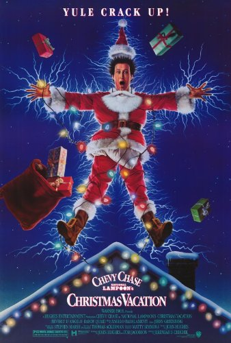 National Lampoon's Christmas Vacation Poster 27x40 Chevy Chase Beverly D'Angelo Randy Quaid Poster Print, 27x40