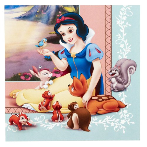 Snow White and the Seven Dwarfs Large Napkins (16ct) - 1