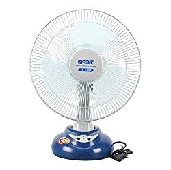 Orbit RF-1290 304mm Rechargeable Table Fan (White)