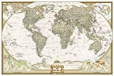 World Executive [Poster Size and Tubed] (National Geographic Reference Map)