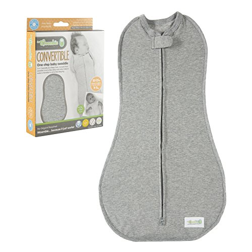 KB Designs The Woombie Original Twilight Heathered Gray Mega Baby