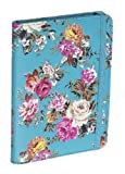 Accessorize Fashion Case Cover with Closing Strap for Amazon Kindle 4 - Blue Floral