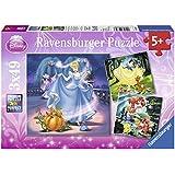 Disney Princess - Puzzle, 3 x 49 piezas (Ravensburger 09339 7)