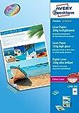 Avery España 1398-200 - Pack de 200 folios de papel fotográfico para impresoras láser, 210 x 297 mm, color blanco - Best Reviews Guide