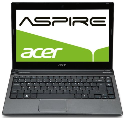 Acer Aspire 3750-2334G50Mnkk 33,8 cm (13,3 Zoll) Notebook (Intel Core i3 2310M, 2,1GHz, 4GB RAM, 500GB HDD, Intel HD 3000, DVD, Win 7 HP)