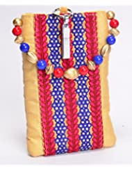 Ethnics Women's Mobile Pouch (Multi-Coloured) (ETM020)