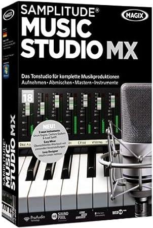 Samplitude Music Studio MX (V.18)