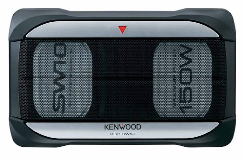 Kenwood Ksc-Sw10 5-Inch X 7-Inch 150-Watt Max Powered Subwoofer With Remote Control