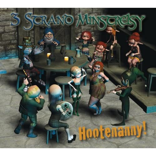 Hootenanny-Three-Strand-Minstrelsy-Audio-CD