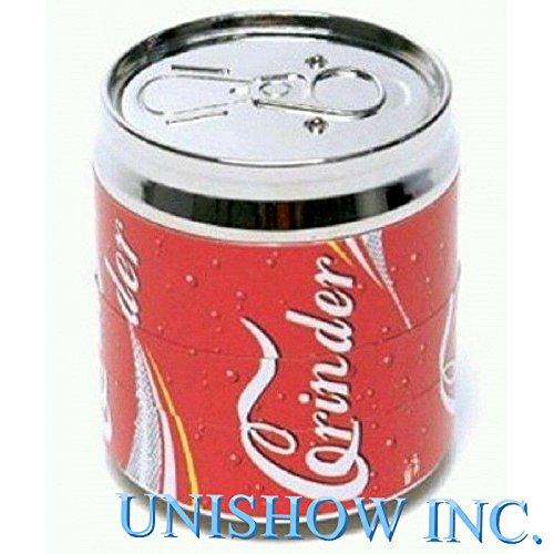 Coke-Pop-CAN-2-Super-Mini-tobacco-Herb-Grinder4-Parts