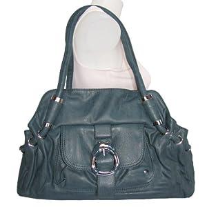 X-Large Front Pocket Satchel Handbag