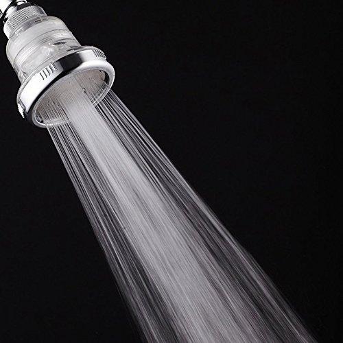 sakaika sh b388 3 high pressure shower head with chlorine filter hard water softener. Black Bedroom Furniture Sets. Home Design Ideas