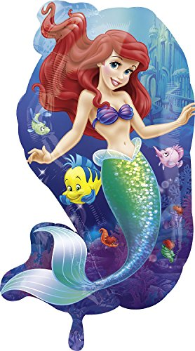 Anagram International 2646401 Little Mermaid Friends Shop Balloon Pack, 29""
