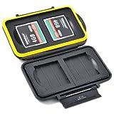 JJC MC-CF4 Memory Card Case water-resistant for 4 CF card
