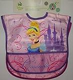 Cinderella 2 Count Waterproof Bibs Set - Toddler