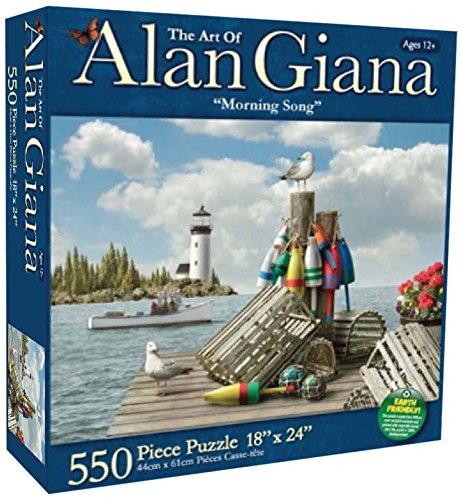 Karmin International Giana Morning Song Puzzle F (550-Piece)