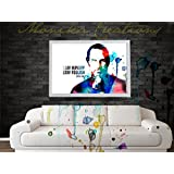 Steve Jobs Poster (STAY HUNGRY.. STAY FOOLISH) Art Water Color Digital Poster Art- Improve Your Home Wall, Perfect...