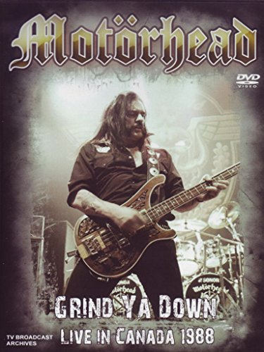 Motörhead - Grind ya down - Live in Canada 1988